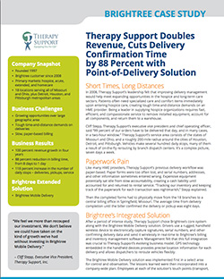 Therapy Support Doubles Revenue, Cuts Delivery ...