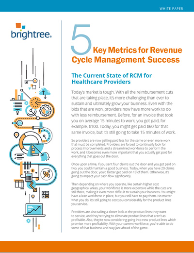 5 Key Metrics for Revenue Cycle Management | Brightree