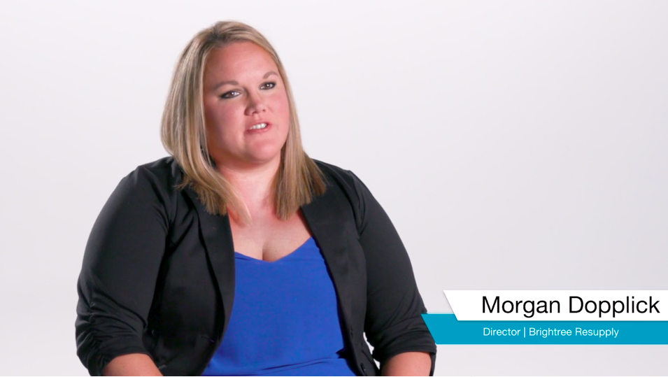Morgan Dopplick describes how the Brightree ReSupply program helps HME suppliers improve patient experience.