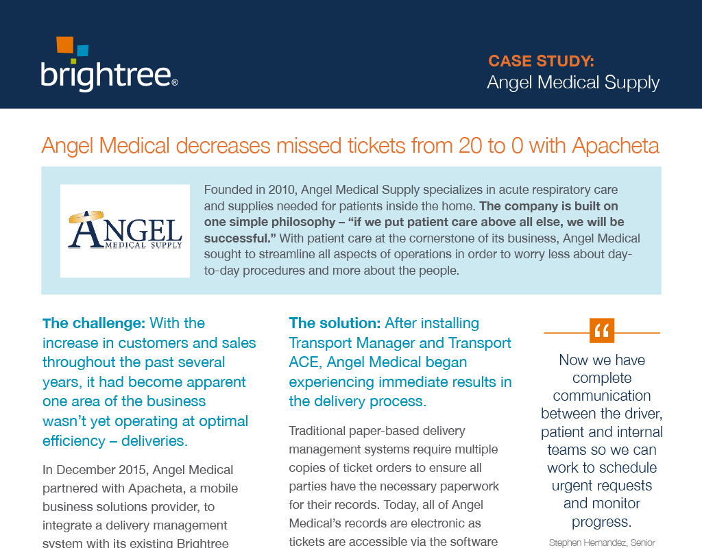 Angel Medical finds game changer with Mobile Delivery