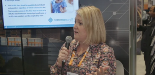 HIMMS19 CommonWell Health Alliance nationwide coordinated care interoperability showcase