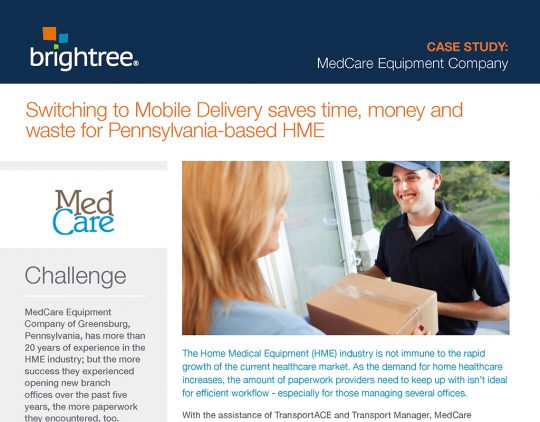 Case Study MedCare Equipment Company