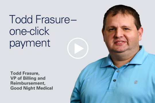 Todd Frasure - One-click payment