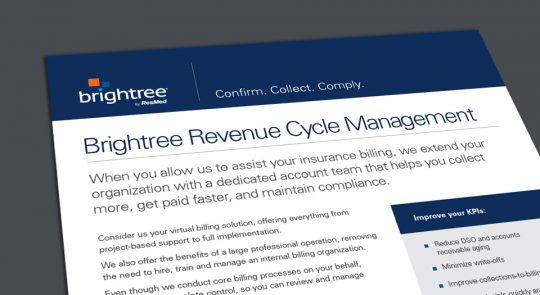 Revenue cycle management service delivers billing expertise you can count on