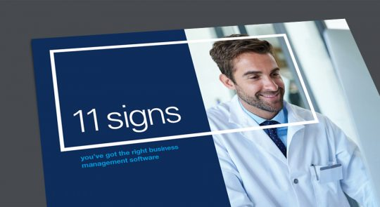 11 signs you've got the right pharmacy and home infusion software